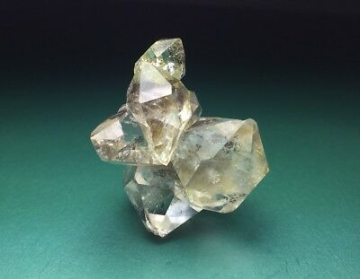 Complex Herkimer Diamond Quartz Crystal Natural Cluster New York Awesome