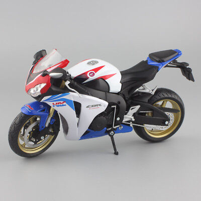 1:12 scale Honda repsol CBR 1000 RR HRC Motorcycle Diecast model motogp toy blue