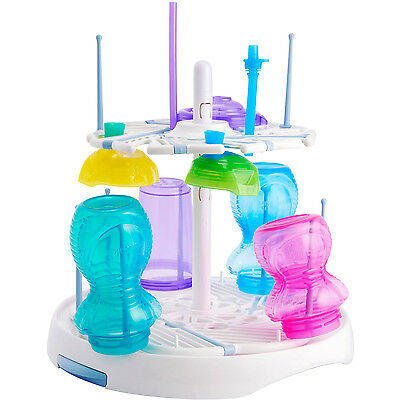 Drying Rack 16 Bottles or Cups Pacifiers Pump Storage Holder Baby Infant Toddler