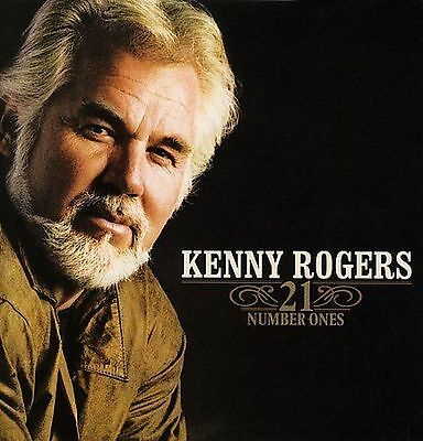 NEW-SEALED! Kenny Rogers - 21 Number Ones CD