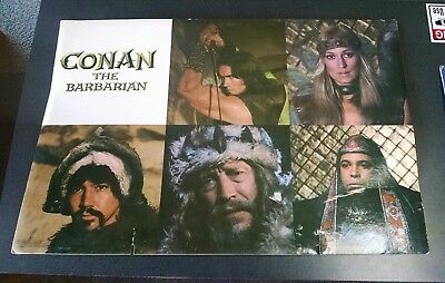Conan the Barbarian - ancient poster - very rare Standee Cards Original Theater