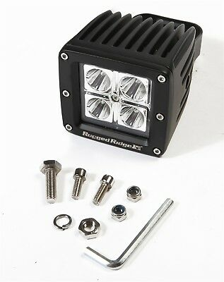 Rugged Ridge 15209.03 Rugged Ridge 15209.03 LED Driving Light - 16 Watt; 4 CREE
