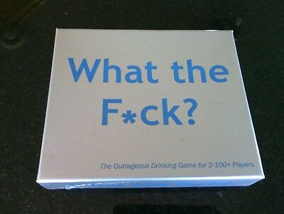 Party Games Outrageous Drinking Game Players 2 100 Questions Adults What the F*?