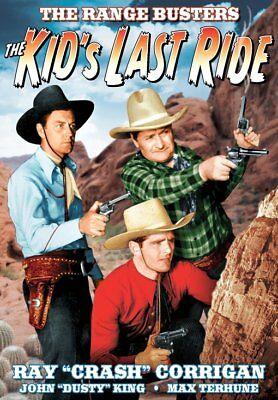 The Range Busters: The Kid's Last Ride NEW DVD
