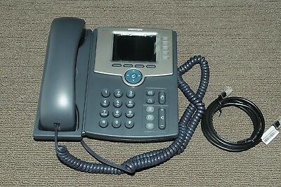 Cisco SPA525G2 5 Line IP Phone Telephone System with Colour Display 1YrWty
