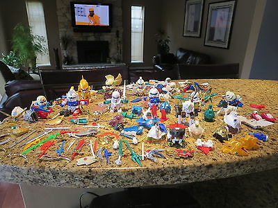Huge Lot Of Bandai Toy Gundam Model Kit Figures And Parts