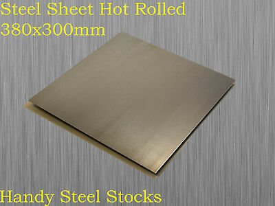 Steel Sheet Plate Hot Rolled 380mm x 300mm x 3mm
