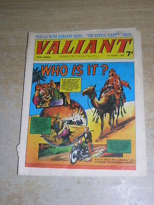 Valiant 29th August 1970