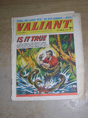 Valiant 28th February 1970
