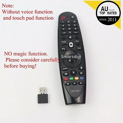 LG REPLACEMENT PART MAGIC REMOTE AN-MR600 AKB74495301 FOR Late Model LG TV