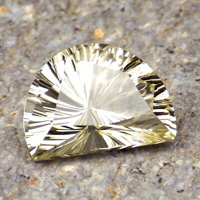 GOLDEN BERYL-BRAZIL 3.43Ct FLAWLESS-PURE GOLD+YELLOW FLASHES-FOR TOP JEWELRY!!
