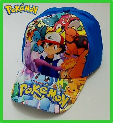 Brandnew Pokemon Pikachu boys Cap / Hat Brand new cotton