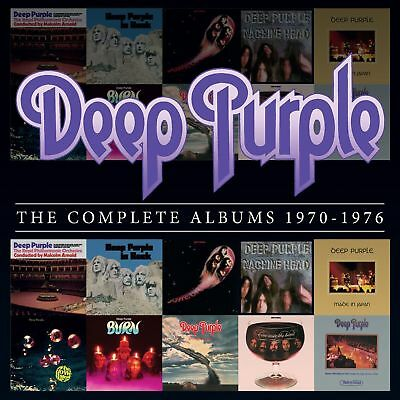 "NEW! Deep Purple ""The Complete Albums 1970-1976"" 10 CD Box Set Collection"