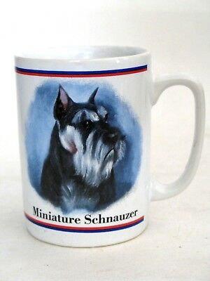 D045 Miniature Schnauzer Personalised Ceramic Mug Perfect Gift.