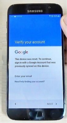 Google account FRP bypass removal for Samsung galaxy S7 & S7 edge