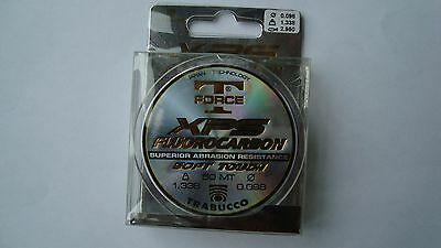 SALE Trabucco T force XPS Flurocarbon fishing line 50m