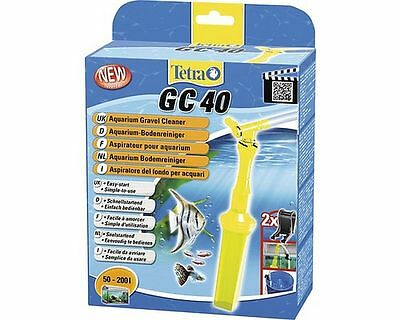 Tetra GC40 Aquarium Gravel Cleaner Easy Start Water Siphon 180cm Hose 50-200L