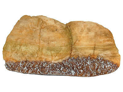 Small Eroded Rock Formation Aquarium Vivarium Decoration Fish Tank Ornament