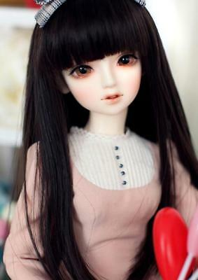 1/4 BJD SD doll Beautiful Girl Unoa lusis Doll FREE FACE MAKE UP+EYES-Araki