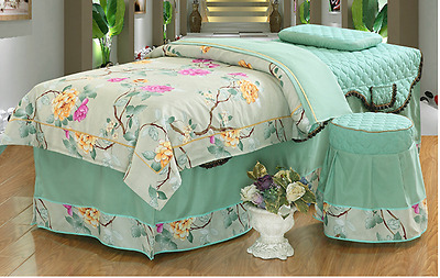 Massage Table Beauty Bed Cover Sheets Set With face hole (Australian Seller)