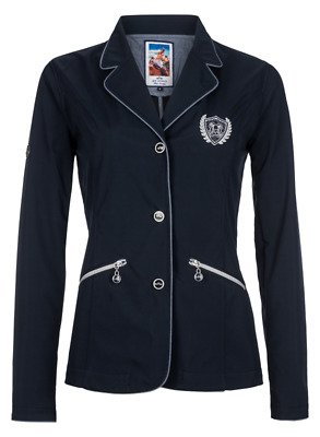 HV Polo Hollywood Womens Competition Jacket - Navy Blue