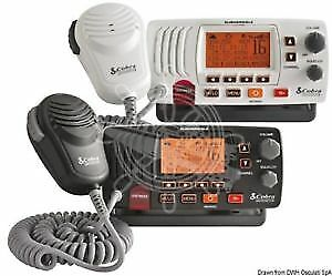 COBRA MARINE F57-EU Black Fixed VHF Radio COBRA MARINE