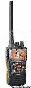 COBRA MARINE HH500 Portable VHF Radio with Bluetooth 62x36x123mm COBRA MARINE