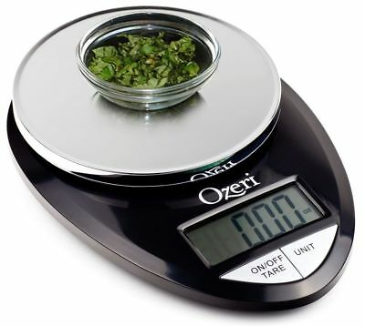 Best Ozeri Pro Digital Kitchen Food Scale 1g to 12 lbs Capacity in Stylish Black