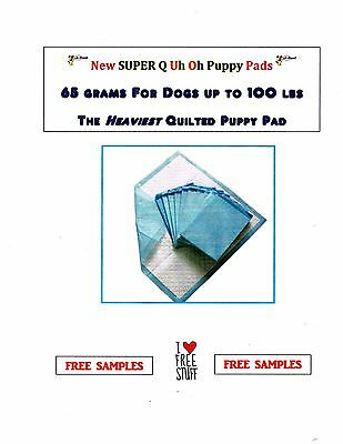 23X36 600ct Super Quilted Puppy Training Piddle Pee Pads Super Absorbent 10% OFF