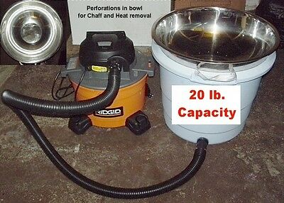 20 lb Capacity Cooler/Dechaffer for Cooling & Dechaffing Roasted Coffee Beans