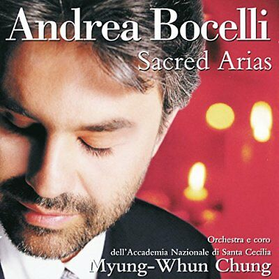 ANDREA BOCELLI - Andrea Bocelli Sacred Arias - CD - *BRAND NEW/STILL SEALED*