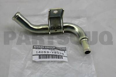 14053VB005 Genuine Nissan PIPE ASSY-HEATER RETURN,FRONT 14053-VB005