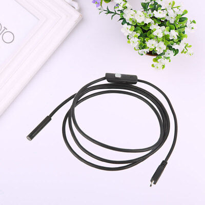 2m 8mm 8LED 2.0MP Endoscope Borescope Camera Lens Waterproof For Mobile Phone