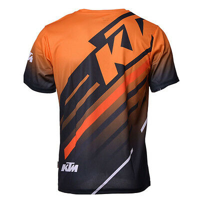 KTM Motocross Jersey MotoGP Motorcycle T-shirts Summer Casual sport riding cycle