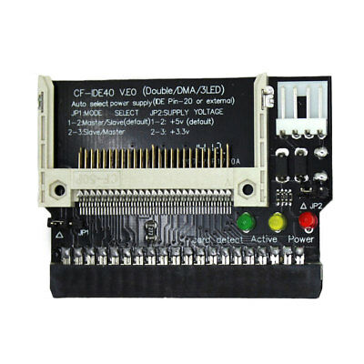 Compact Flash CF To 3.5 40Pin IDE Bootable Drive Adapters Converter Card