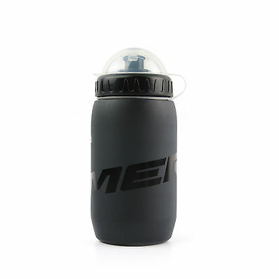 MERIDA Bike Bicycle Sport Cycling Water Bottle with Cover / Black - 500ml