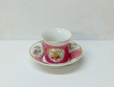 Avon European Tradition Mini Porcelain Cup and Saucer