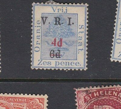 1902 South Africa / Orange Free State  6d. on 6d. Surch 4d. and bar TREE mint MH