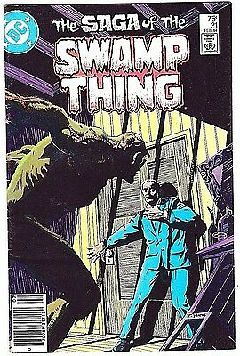 Saga Of The Swamp Thing#21 Fn/vf 1984 'the Anatomy Lesson' Alan Moore Dc Comics