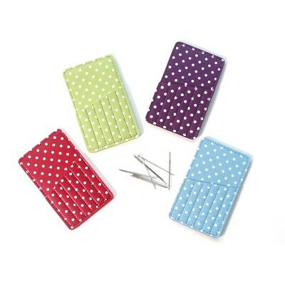 Designer Polka-Dot Print Needlecases – Color Choice