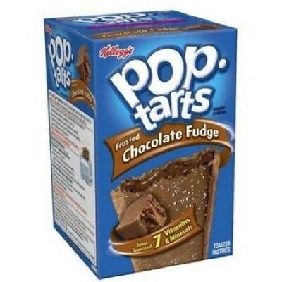 Pop Tarts Frosted Chocolate Fudge 416g  pack of 2 (16single poptarts)