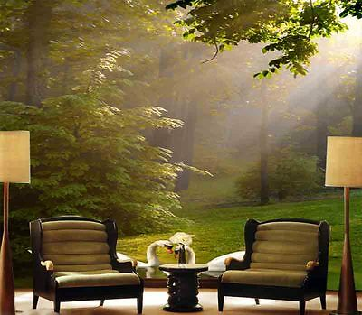 Elegant Vacant Trees 3D Full Wall Mural Photo Wallpaper Printing Home Kids Decor