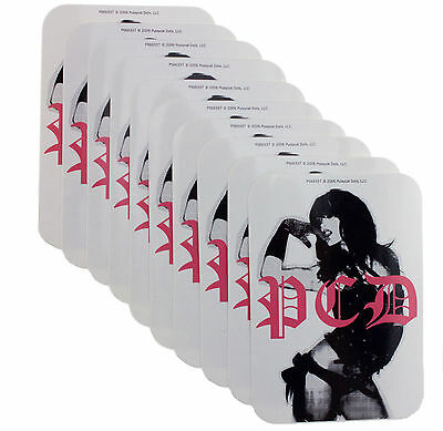 10 x Pussycat Dolls PCD Logo Official Girl Band Vinyl Stickers