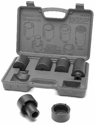 Wilmar W89319 4 By 4 Spindle Nut Wrench Set, 6-Piece
