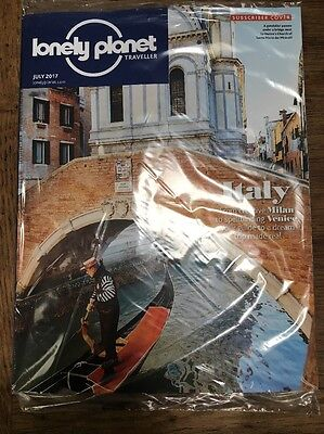 Lonely Planet Traveller Magazine - July 2017 - Free Postage