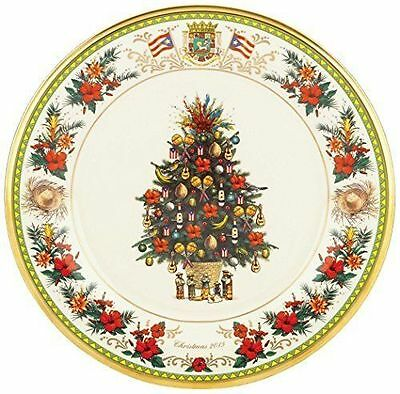 Lenox 2015 Annual Trees Around the World Collectors Plate Puerto Rico Tree NWT