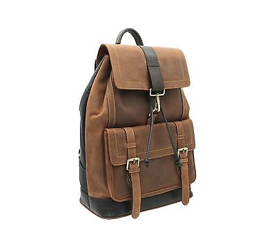 Visconti Hunter Collection RHINO XL Leather Backpack 16161