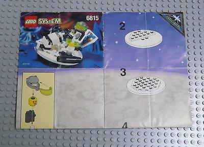 LEGO INSTRUCTIONS MANUAL BOOK ONLY 6815 Hovertron x1PC