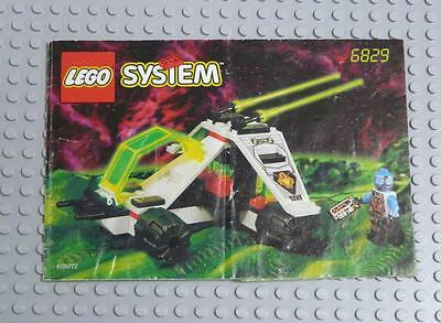 LEGO INSTRUCTIONS MANUAL BOOK ONLY 6829 Radon Rover x1PC