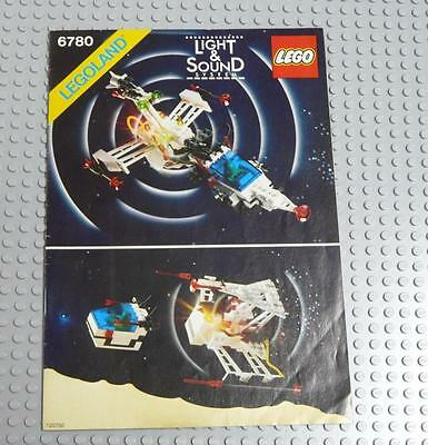 LEGO INSTRUCTIONS MANUAL BOOK ONLY 6780 XT Starship x1PC